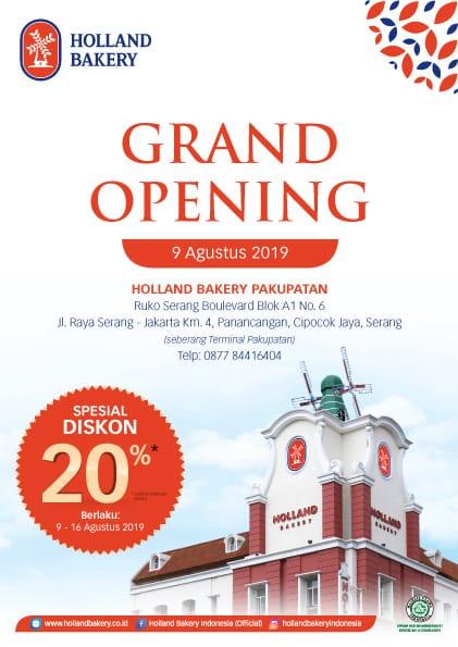 Grand Opening Pakupatan